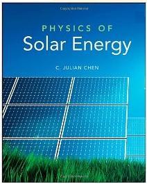 physics of solar energy chen c julian